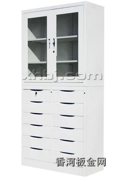 文件柜网提供生产十二屉开门柜厂家