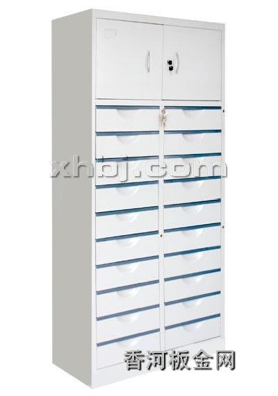 文件柜网提供生产二十屉双门柜厂家