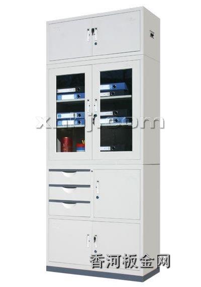文件柜网提供生产偏三屉加顶文件柜厂家