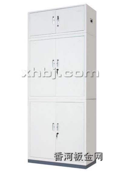 文件柜网提供生产四门加顶文件柜厂家