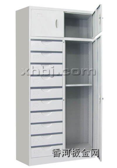 文件柜网提供生产十屉三门柜
