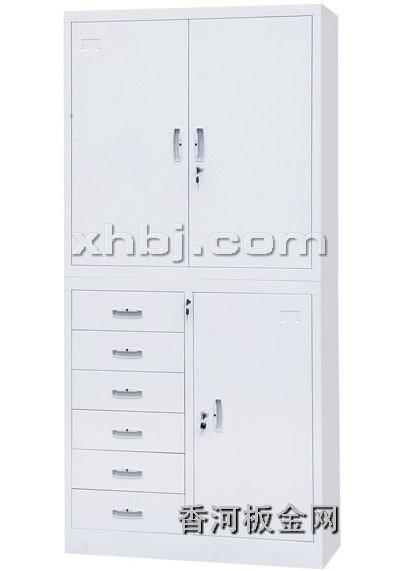文件柜网提供生产偏六屉双节柜厂家