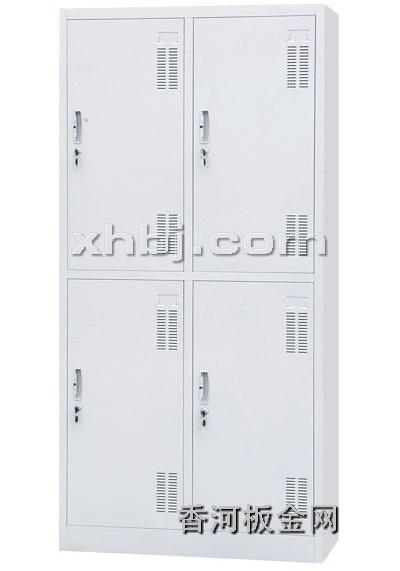 文件柜网提供生产四门更衣柜厂家