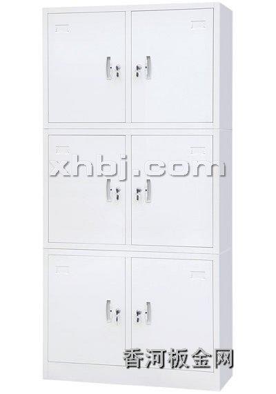 文件柜网提供生产三节财务柜厂家