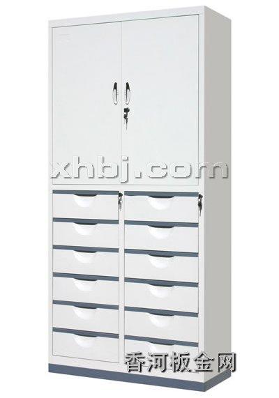 文件柜网提供生产十二屉二门柜厂家