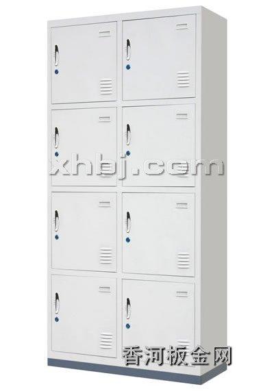 文件柜网提供生产八门更衣柜厂家