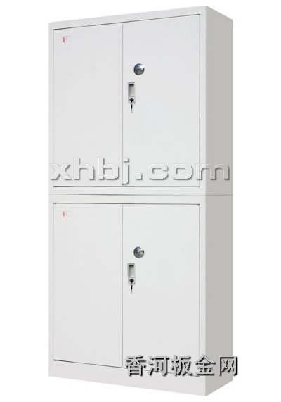 文件柜网提供生产扣手加密双节柜厂家
