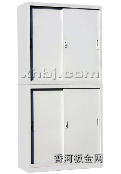 文件柜网提供生产上下铁移门柜厂家